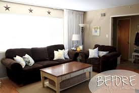 Yellow Brown Living Room Outstanding Yellow And Brown Living Room On Small House Remodel