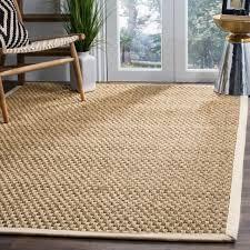 safavieh natural fiber marina natural ivory seagrass rug 10 x 14