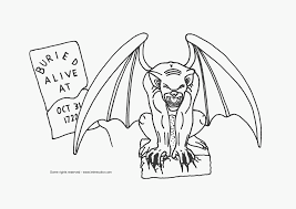 Really Scary Halloween Coloring Pages Free Coloring Pages