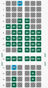 Frontier Park Seating Chart How To Get A Good Seat On Frontier For Free Points With