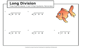 Grade Worksheet: Grade 4 Long Division Worksheets 4th Grade Long ...