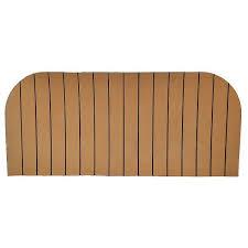 aquatrac tan 39 3 4 x 17 3 4 inch foam rubber boat adhesive deck non slip mat pad