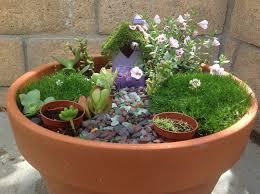 fairy gardens ideas. Mini Potted Fairytale Garden Fairy Gardens Ideas