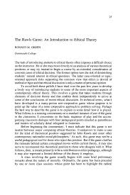 the rawls game an introduction to ethical theory ronald m  demonstrating philosophy