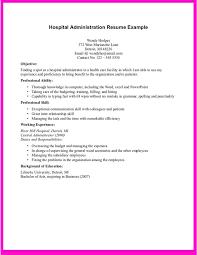 resume objective clerical resume objectives for management sports management sample resume