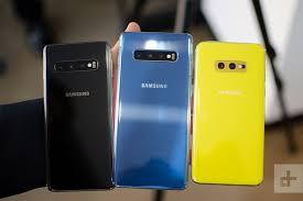 Samsung Galaxy S10 Vs S10 Plus Vs S10e Vs S10 5g