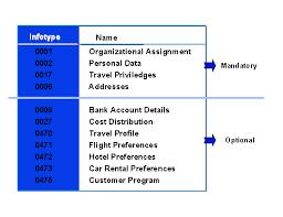 Trip Planner Cost Hr Master Data For Travel Planning Sap Documentation