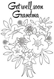 Small Picture Get Well Soon Grandma coloring page Free Printable Coloring Pages