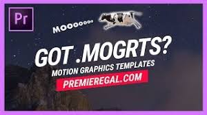 How To Import And Edit Motion Graphics Templates In Adobe
