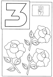 Small Picture Printable Coloring Pages Numbers