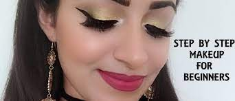 how to do makeup step by step at home