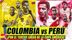 ? PERÚ vs COLOMBIA: ¡Por el tercer ...