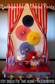 Homemade Circus Decorations 17 Best Images About Madagascar Or Circus Party On Pinterest