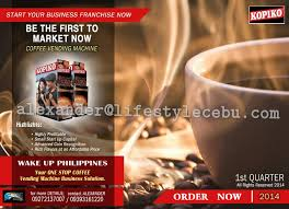 Coffee Vending Machine In Cebu Simple Product Launch KOPIKO Vending Machine