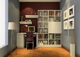 two tone wall painting color bookshelf furniture design