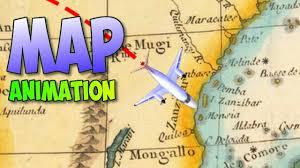 Animated Travel Map Travel Map Animation Tutorial In Davinci Resolve 14 Indiana Jones Style