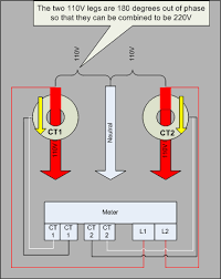 ekm meter setup for 220v circuits Single Phase 220V Wiring-Diagram 220v Transformer Wiring Diagram #20