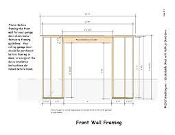roll up shed door framing