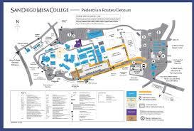 san diego mesa college map  mesa college san diego map