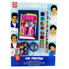 Small Picture One Direction Stationery Set 5 Pieces Amazoncouk Office Products