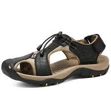 <b>IZZUMI</b> Hollow <b>Men's Sandals</b> Upstream <b>Shoes</b> Black EU 45 ...