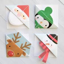 print and fold origami bookmarks in five fun designs easy kids craft