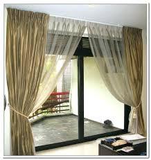 unique ds grommet curtains for sliding glass doors unique ds intended door decor
