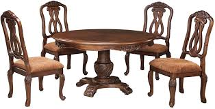 outstanding ashley furniture round dining table room find hd photos for north s pedestal set from