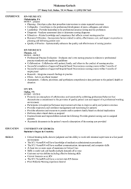 Sample Of Rn Resumes Icu Rn Resume Samples Velvet Jobs