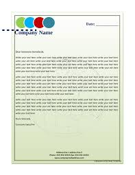2017 Business Letterhead Templates Fillable Printable Pdf