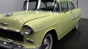 1955 Chevrolet Delray 210 2 Door 265 3 Speed - YouTube