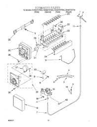 whirlpool refrigerator ice maker parts diagram whirlpool parts for whirlpool gd25dfxfw02 refrigerator appliancepartspros com on whirlpool refrigerator ice maker parts diagram