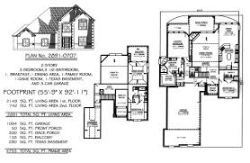 2 story house plans with basement. Contemporary Plans 3 Bedroom 2 Story House Plans To With Basement S
