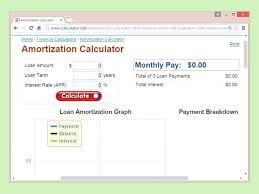 Interest Only Loan Amortization Schedule Excel Template Ways To