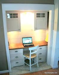 diy closet office desk diy closet office