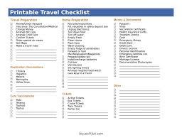 020 Template Ideas Travel Packing List Ulyssesroom