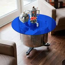 fab glasirror 24 inch blue
