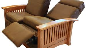 modern reclining loveseat. Wonderful Modern Reclining Loveseat In Also Wooden Mission Design And Brown W