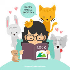 happy world book day free vector