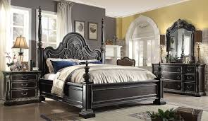 Bedroom White Four Poster Bed King Size Full Size Bedroom Sets