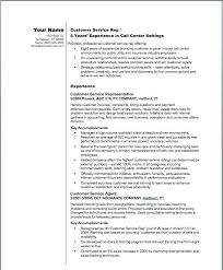 Customer Service Representative Resume Gorgeous Cv Examples For Customer Service Jobs Plus Example Customer Service