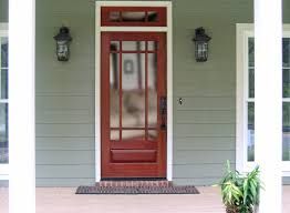 single glass front doors with craftsman exterior wood front entry door dbyd 4001 17