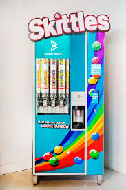 Skittle Vending Machine Adorable Beast Mode Skittles Suzi Pratt
