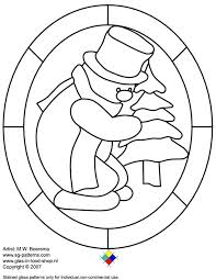 Stained Glass Patterns Free Printable Stained Glass Coloring Pages