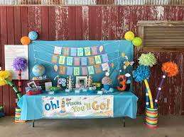 places you ll go birthday party ideas