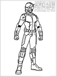 Coloring Pages Of Ant Man