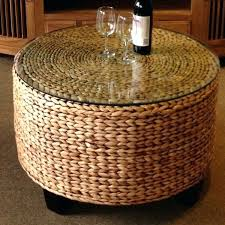 basket coffee table basket coffee table round white wicker basket coffee table