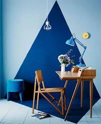 blue office decor. stylish office decor 27 geometric home dcor ideas digsdigs blue i