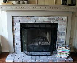 gray brick fireplace painted brick fireplace before and after painted brick fireplaces gray brick fireplace paint