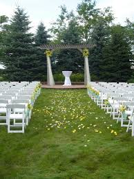 chair and table design outdoor country wedding decoration ideas on simple garden wedding decoration